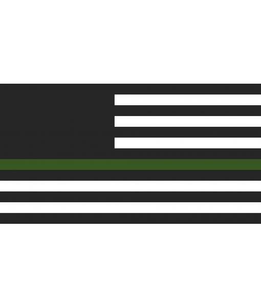 Handcrafted Wooden US Veteran Flag